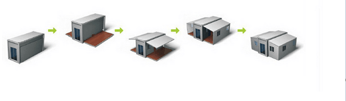 Acheter chine conteneur fabricant 20pi flatpack for Acheter une maison en chine
