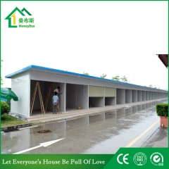 Prefabricated Car Garage Prefab Booth